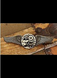 Steampunk Flügelbrosche