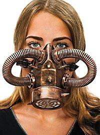 Steampunk Gasmask copper