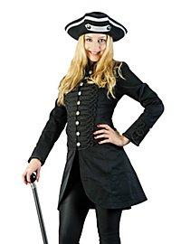 Steampunk Ladies Coat short