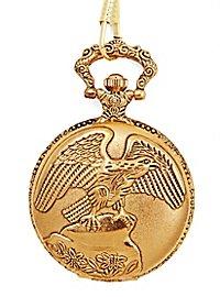 Taschenuhr Steinadler gold