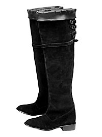 """Suede Leather Boots """"Knight"""""""