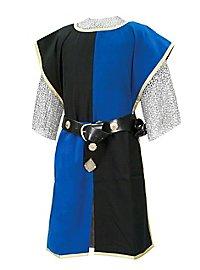 Tabard noir et bleu