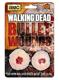 The Walking Dead Bullet Wounds Latex Prosthetics