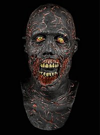 The Walking Dead Verkohlter Zombie Maske aus Latex