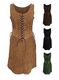 Uniforme d'aventurière en cuir
