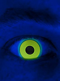 UV Yellow Special Effect Contact Lens