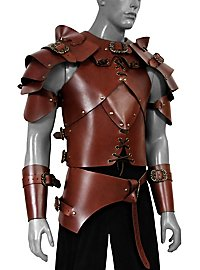 Leather armour set - Rogue, brown