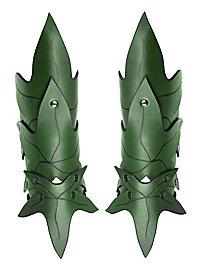 Armschienen - Waldelfe grün