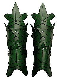Beinschienen - Waldelfe grün