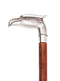 Walking Stick Eagle silver