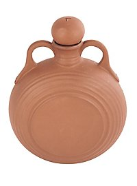 Water bottle from clay - 0,5 l