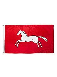 Weißes Ross Flagge