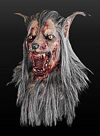 Werwolfmaske Deluxe aus Latex