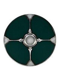Wikinger Rundschild grün Polsterwaffe