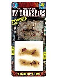 Zombie Lippen 3D FX Transfers