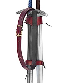 Rückenschwerthalter - Kundschafter zweifach rot
