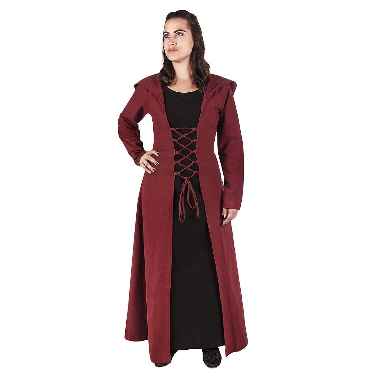 40607045bc255 Mittelalter Kleid mit Kapuze - Hestia - andracor.com