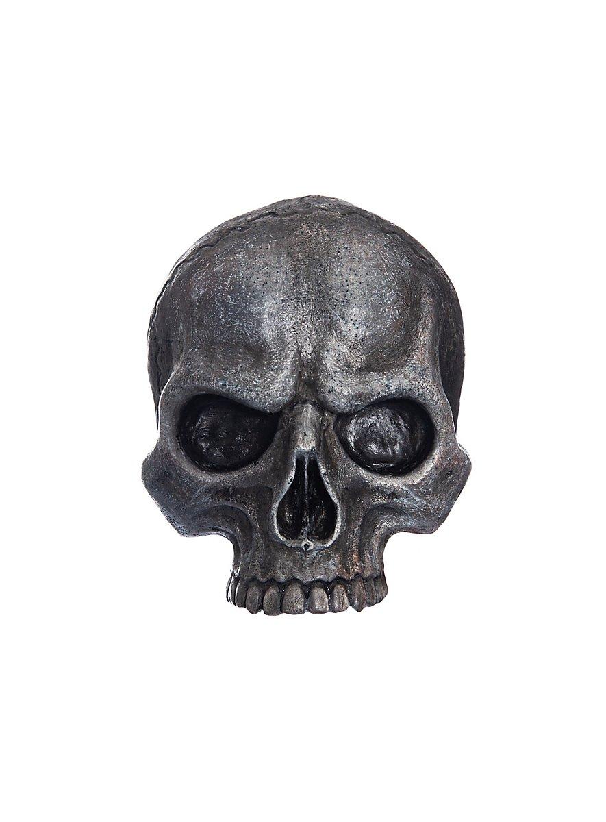 Jagged Deco Skull Made Of Resin Small Andracor Com