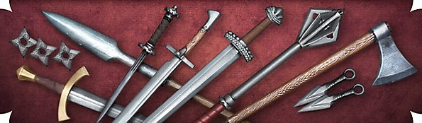 Realistic Larp Weapons