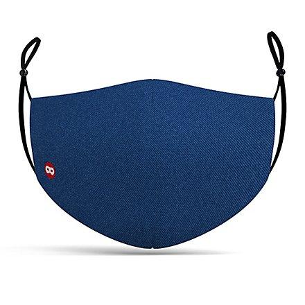 Stoffmaske Blue Denim