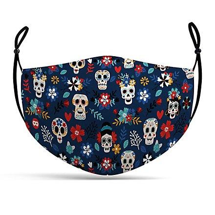 Stoffmaske Dia de los Muertos