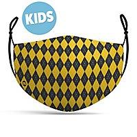 fabric mask for children magic school yellow