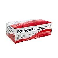 Polycare Latex gloves powderfree - 100 pcs
