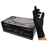 Nitras Black Wave Nitril gloves - black - 100 pcs