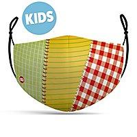 Stoffmaske für Kinder Patchwork Flickenstrumpf