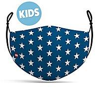 Stoffmaske für Kinder Sterne