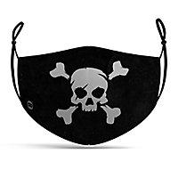 Stoffmaske Totenkopf Pirat