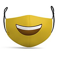 Stoffmaske Smiley Emoji