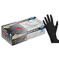 Unigloves Select Black Latexgloves - black - 100 pcs