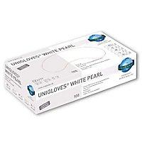 Unigloves White Pearl Nitril-Handschuhe - weiß - 100 Stück