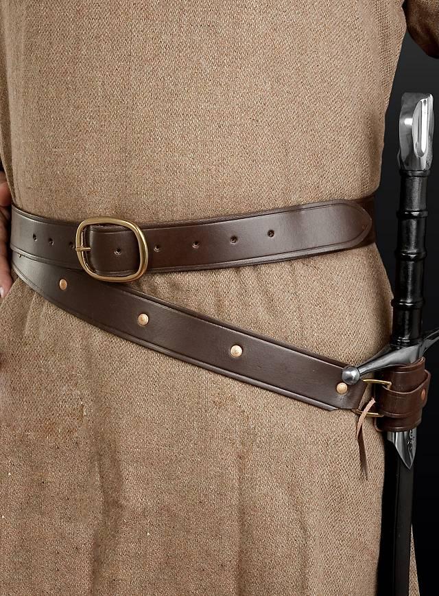 how to make a sword belt