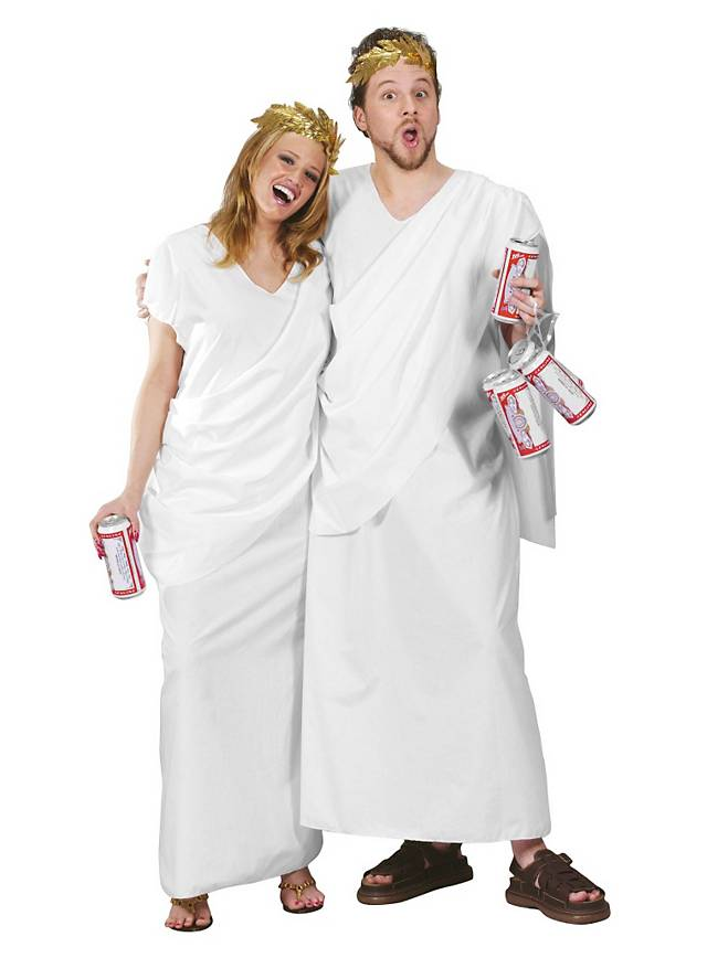 Toga One Size for Your Black and White Party