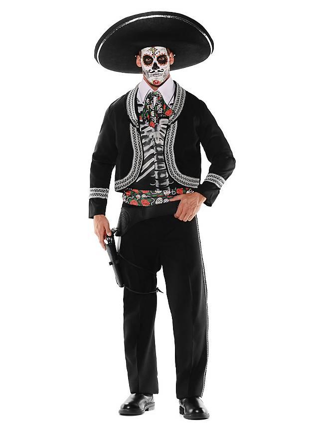 Skelett Bräutigam Kostüm Dia de los Muertos