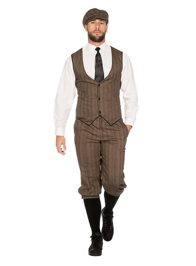 20er Jahre Dandy braun Kostümset für Männer - maskworld.com