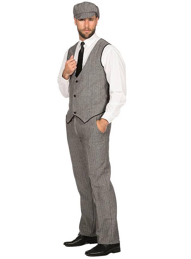 20er Jahre Gentleman Kostümset für Männer - maskworld.com
