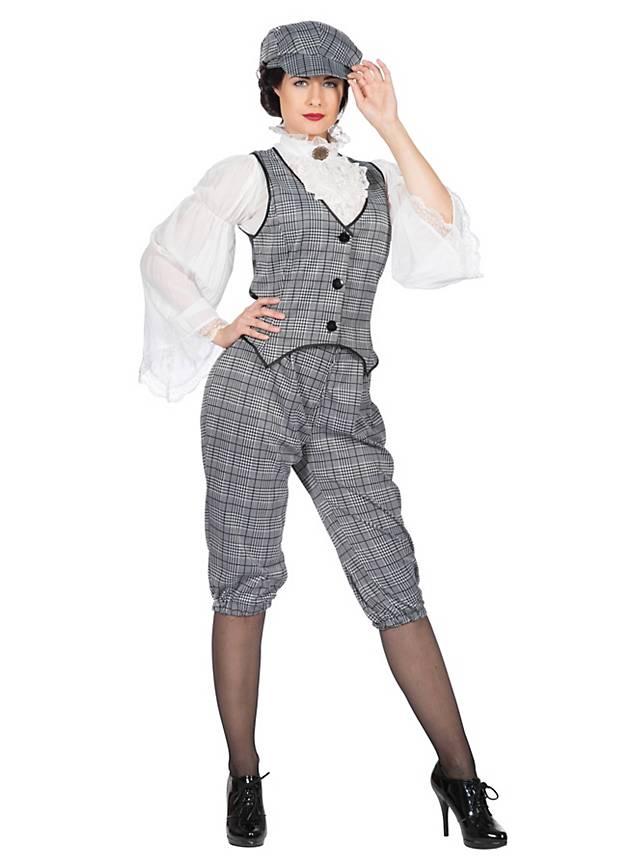 20er Jahre Prohibition Lady Kostümset