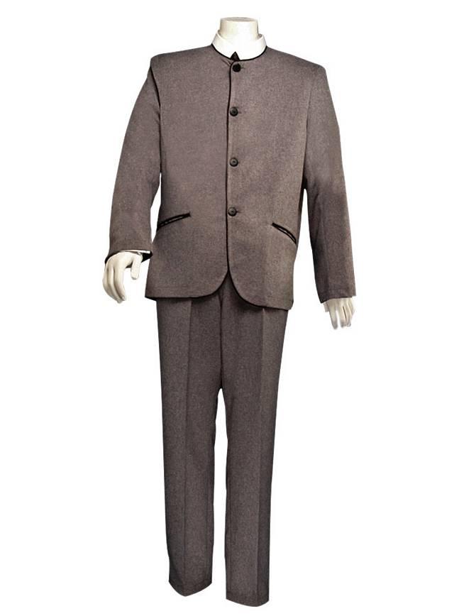 "60er Anzug ""Pilzkopf"" grau"
