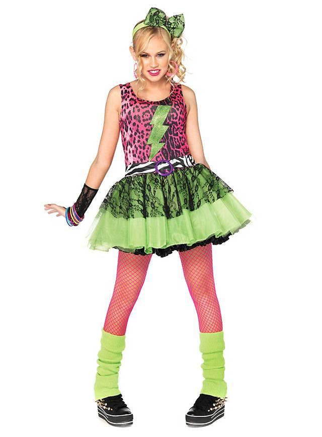 80er Teenie Star Kostüm für Jugendliche