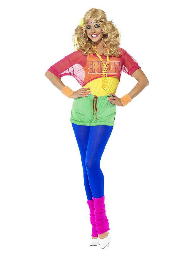 80s aerobics star costume for Ideen bad taste party outfit