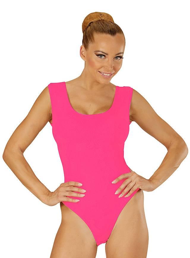 Ärmelloser Body pink