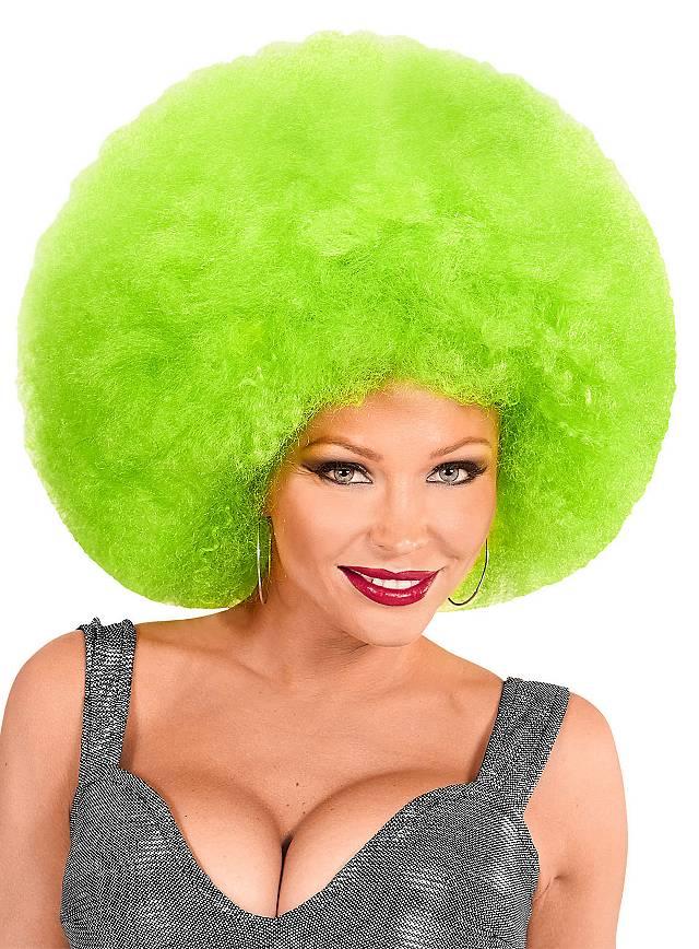 Afro XXL Perücke grün