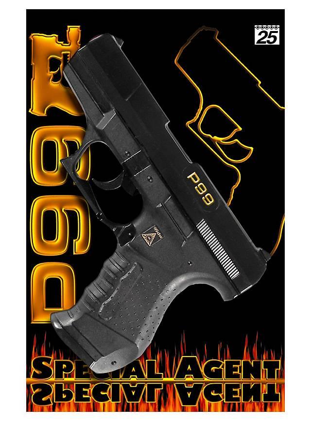 Agent pistol P99, 25 rounds