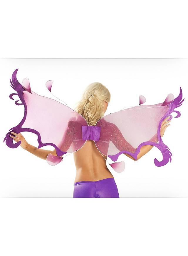 Ailes d'ange violettes