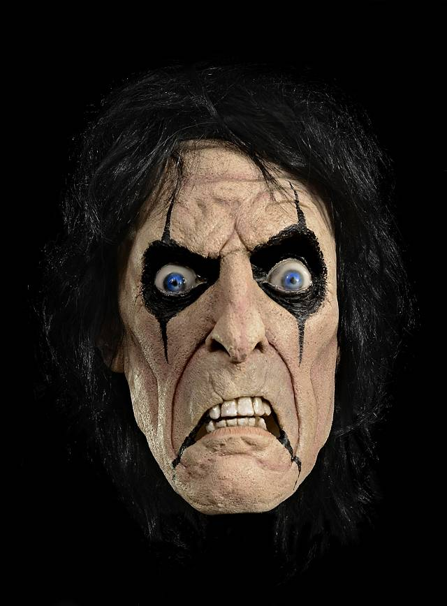 Alice Cooper Maske aus Latex