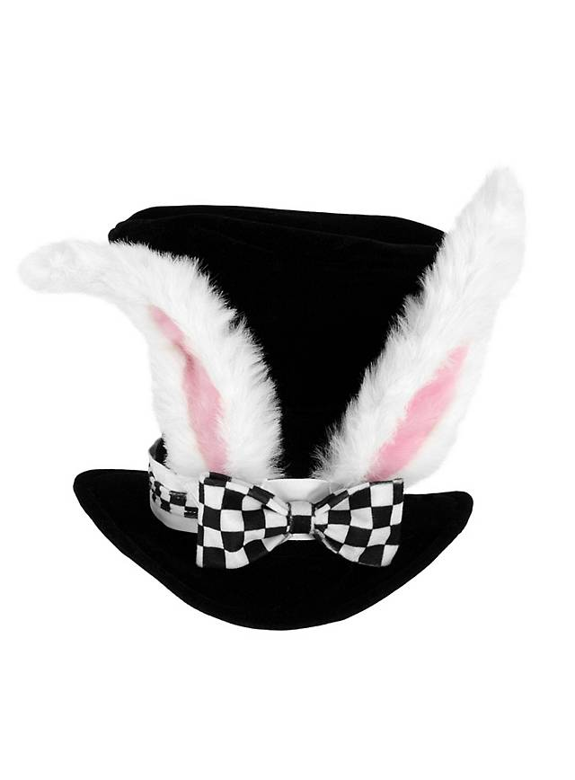 Alice im Wunderland Weißes Kaninchen Hut