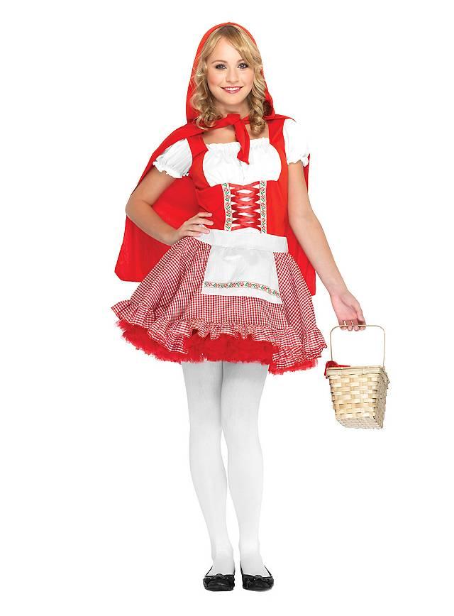 Alpine Red Riding Hood Teen Costume Maskworld Com